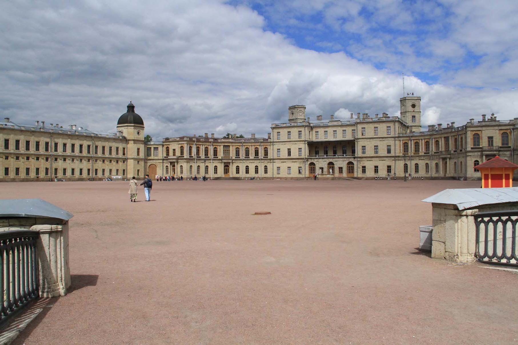 Le palais de Gatchina