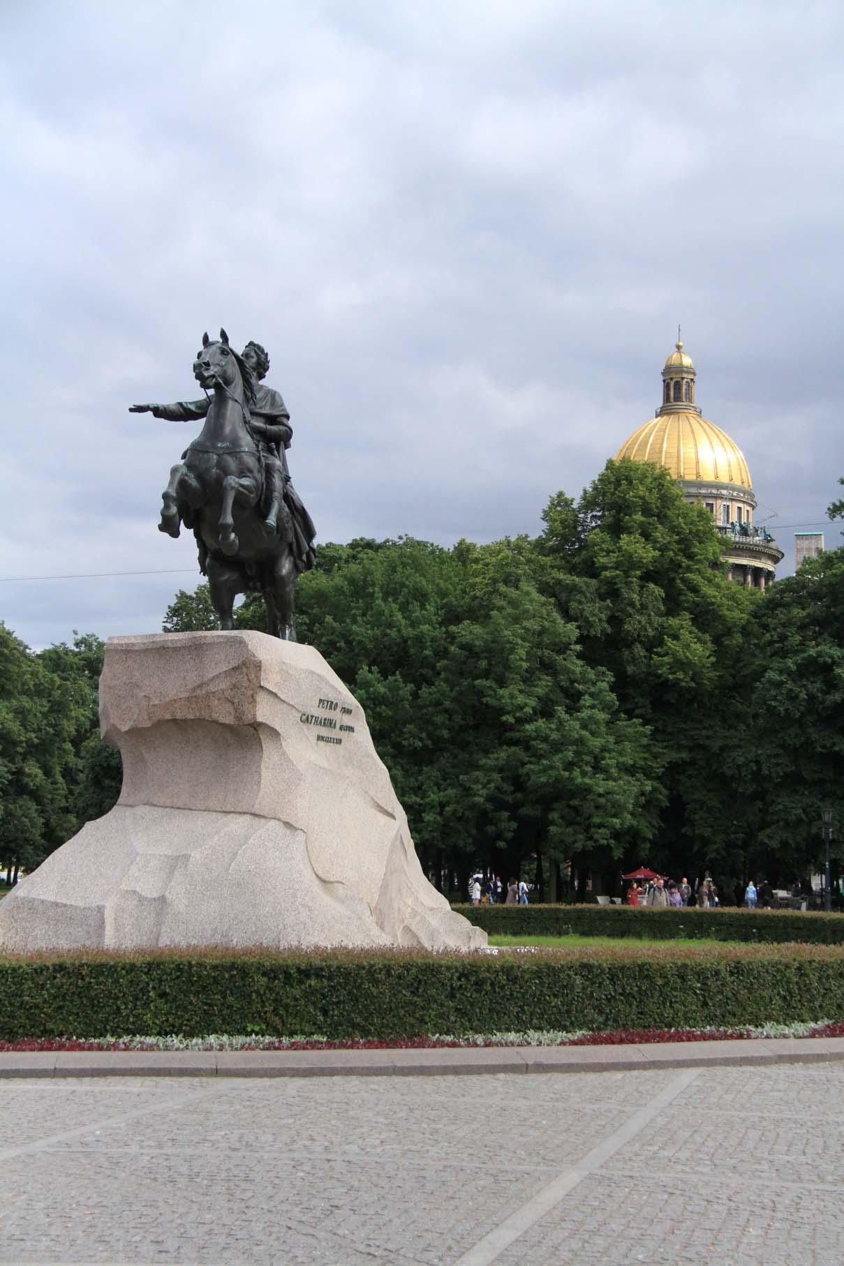 Le Cavalier de Bronze